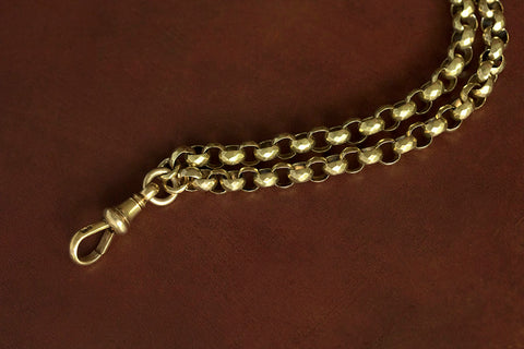 Victorian 18k Long Chain Necklace