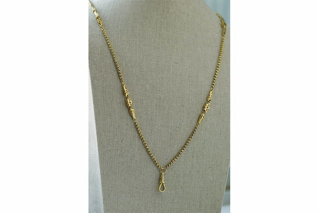 Victorian Ornate Gold Chain