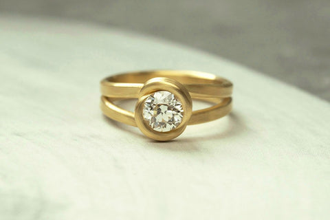 LAELIUS Leen Heyne Embrace Diamond Ring