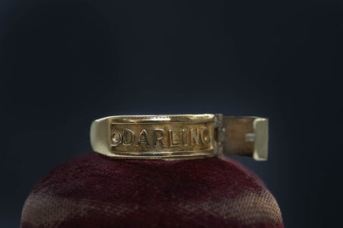 Late Victorian DARLING Ring