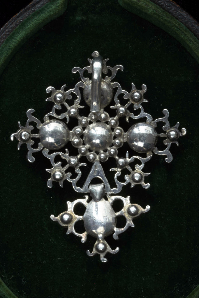 Georgian Silver and Paste Pendant