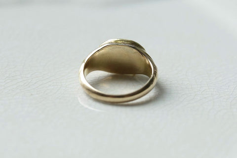 Early Victorian Baby Signet Ring