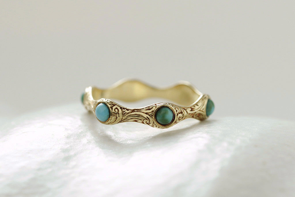 Early 19th Century Turquoise Eternity Ring