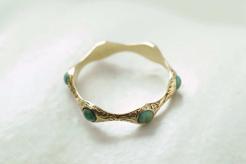Eary 19th Century Turquoise Eternity Ring