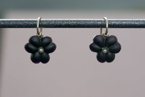 Victorian 'Forget-Me-Not' Earrings