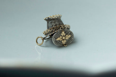 Early 19th Century French Basket Charm