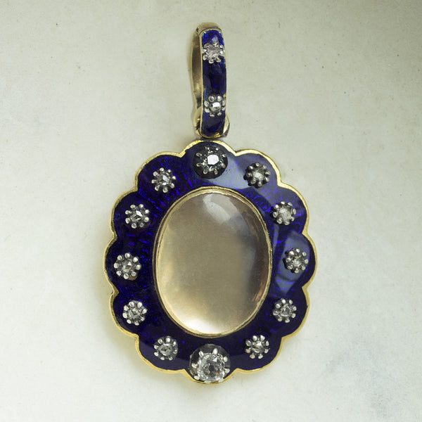 Antique 'Au Firmament' Pendant/Locket