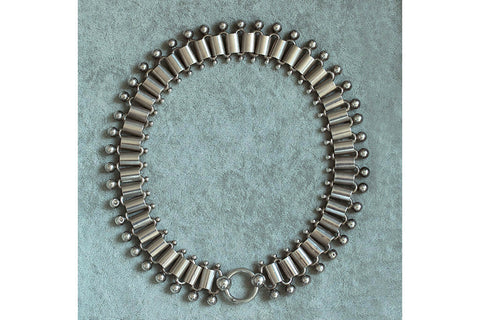 Mid-Victorian Sterling Silver Chunky Chain