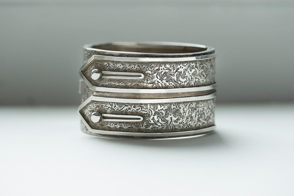 Victorian Double Shirt Cuff Bangle