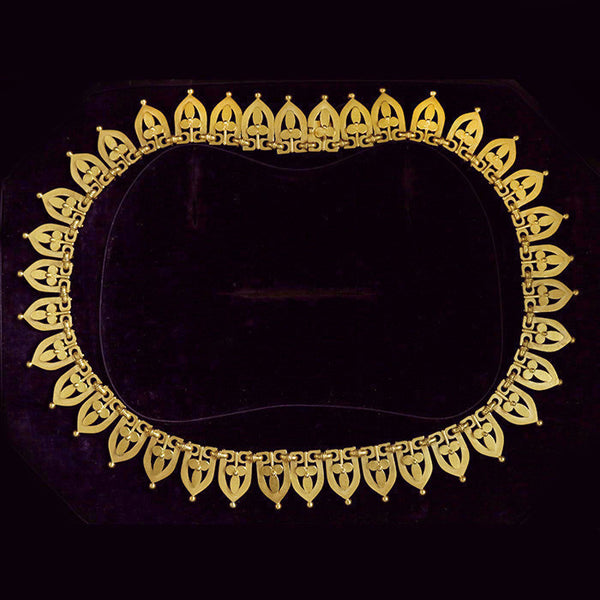 Victorian Etruscan Gold Collar
