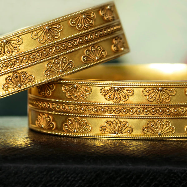 Pair of Victorian Matched Set of Bangles