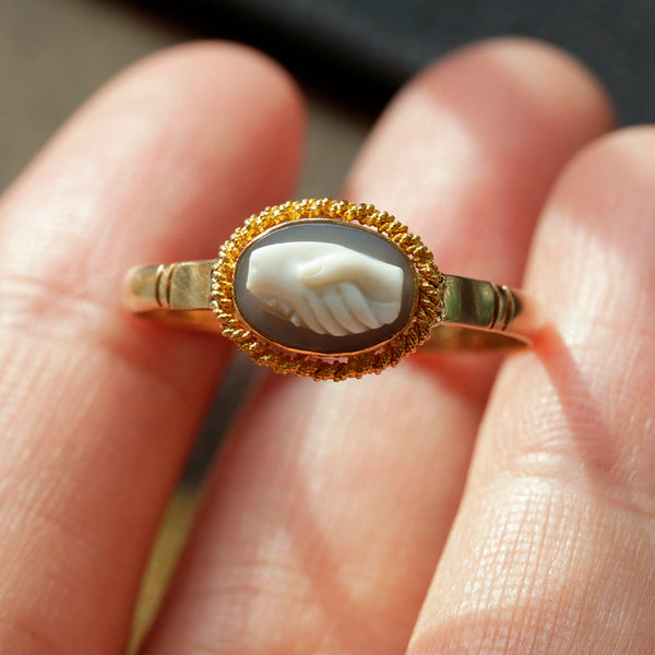 Early 19th Century Fede Cameo Ring