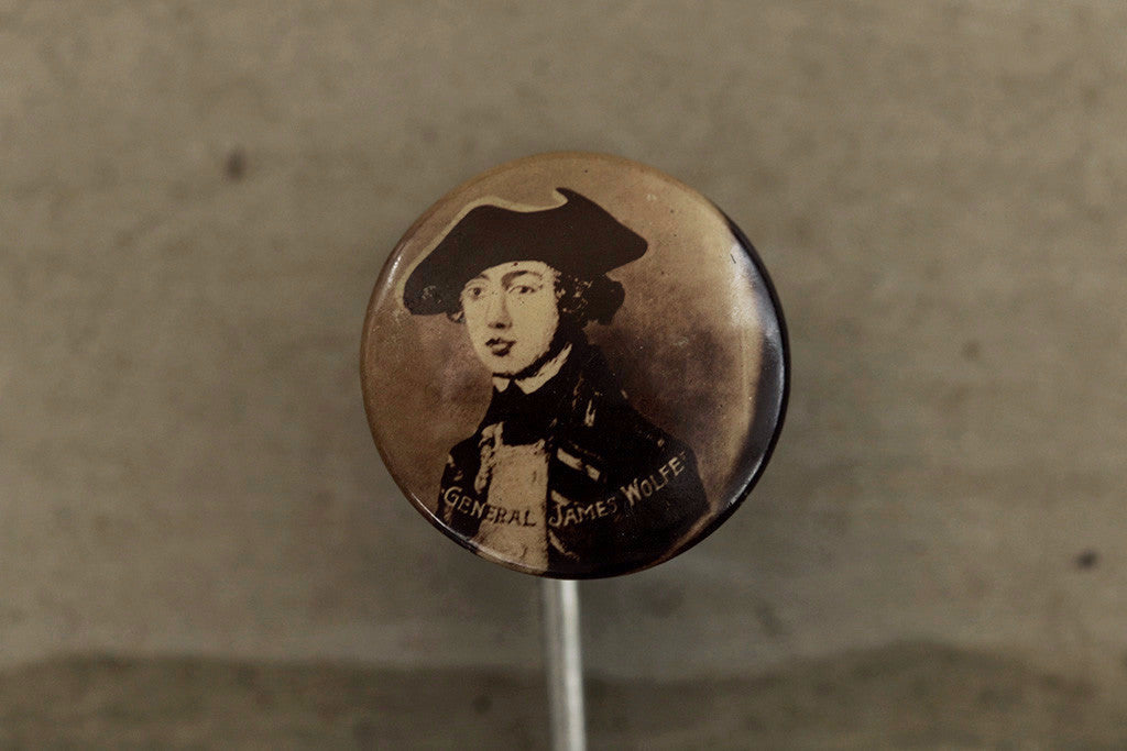 Commemorative 'James Wolfe' Stick Pin