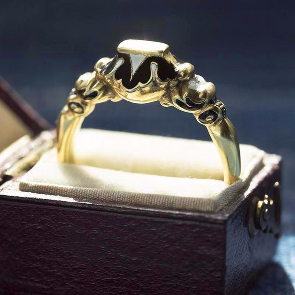 Victorian Gothic Revival Ring