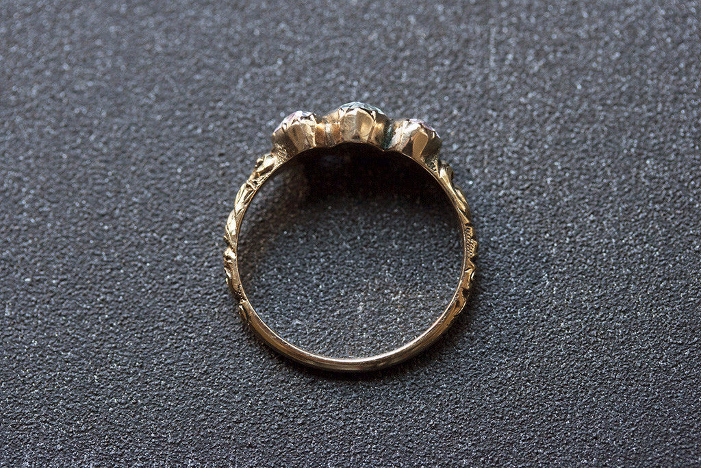 Georgian Harlequin Ring
