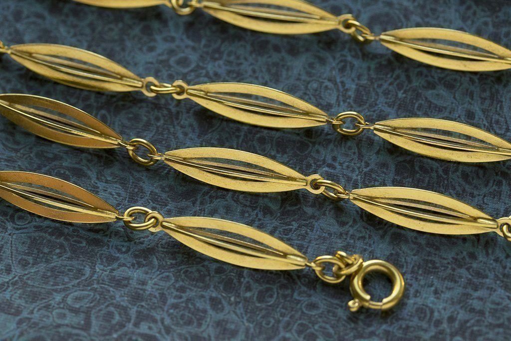 Fine Quality Italian 18k Gold Chain