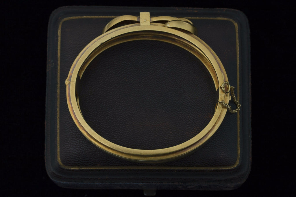 Late Victorian Claw Buckle Bangle