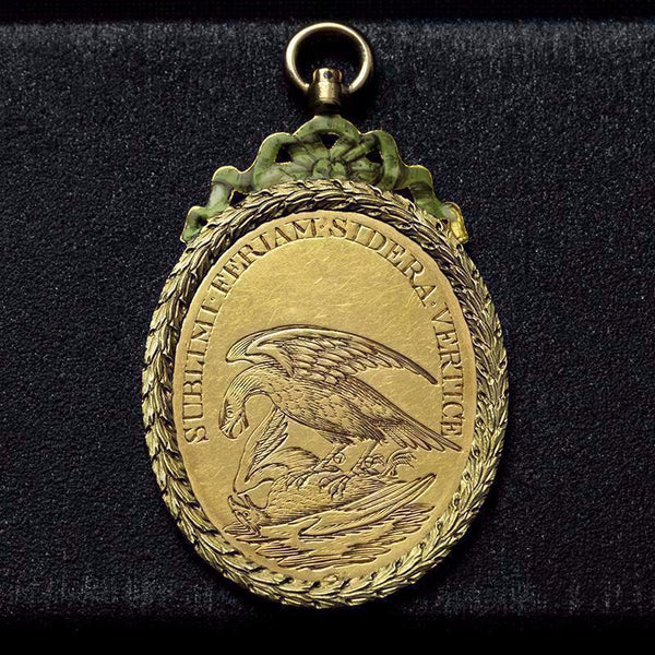Antique Masonic Gold Pendant
