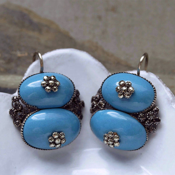 Antique Queen Anne Earrings