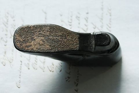 Early 19th Century Shoe-Shaped Snuff Box