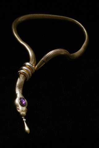 Victorian Serpent Necklace