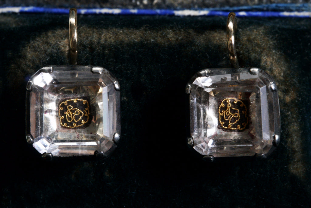 Stuart Crystal Earrings