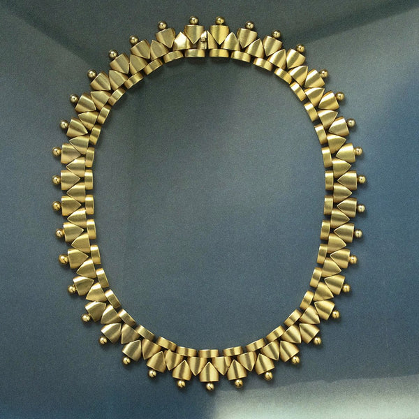 Victorian Gold Collar Necklace