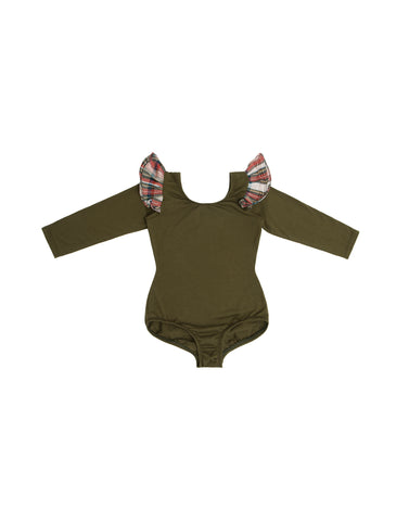 Zeta Pine Long Sleeve Bodysuit