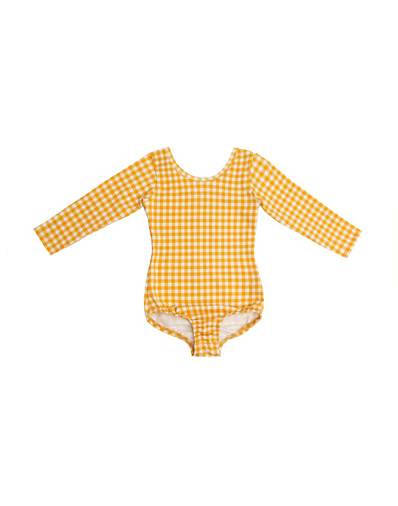 Clara Check Long Sleeve Simple Suit