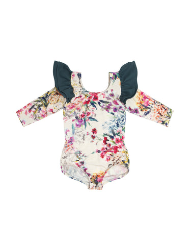 Franny Floral Long Sleeve Bodysuit