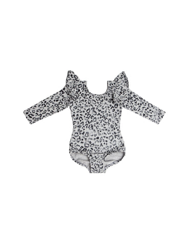 Roary Grey Long Sleeve Bodysuit