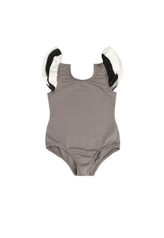 Gia Grey Sleeveless Bodysuit