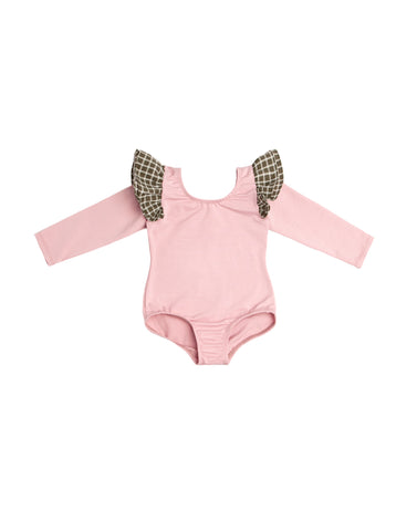 Penny Pink Long Sleeve Bodysuit