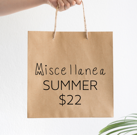 MISCELLANE GRAB BAG SUMMER