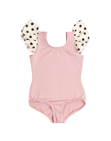 The Darla with DOTS Sleeveless Bodysuit