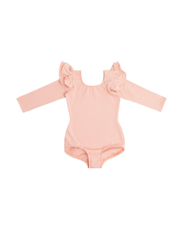 Pretty in Pink Long Sleeve Bodysuit