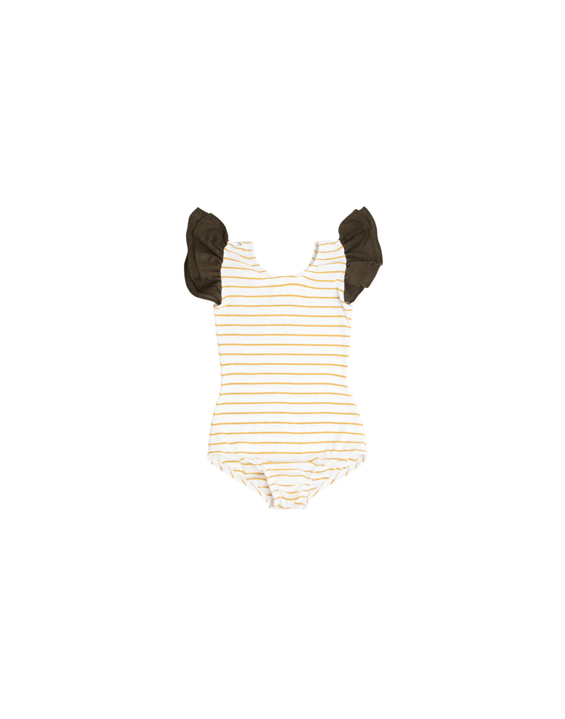 Mimi Mustard Sleeveless Bodysuit