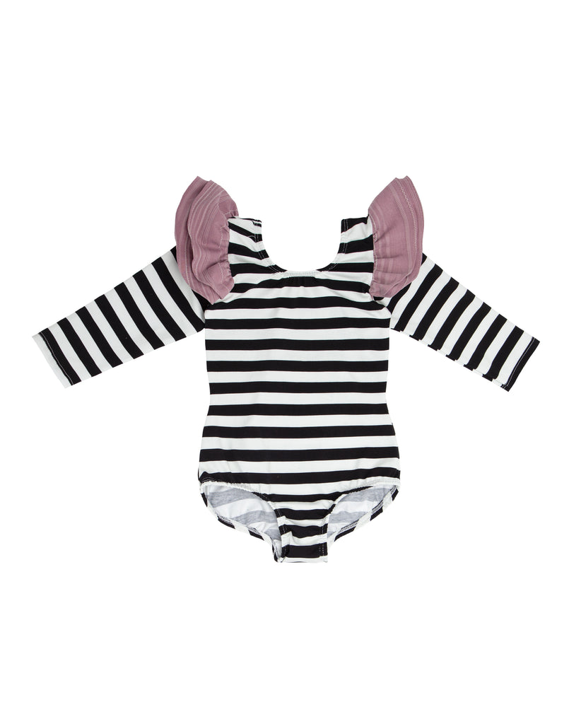 Quinney Stripe Long Sleeve Bodysuit