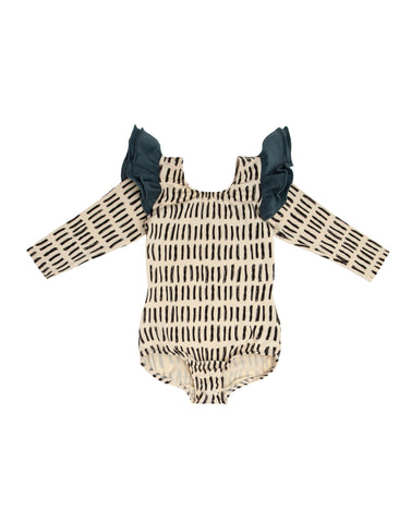 Dashy Long Sleeve Bodysuit