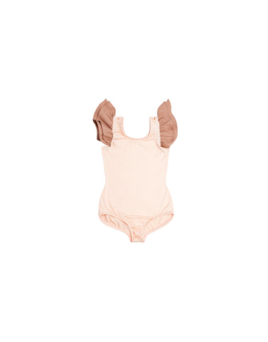 Peachy, Peach Sleeveless Bodysuit