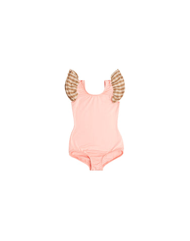 Peachy Pink Sleeveless Bodysuit