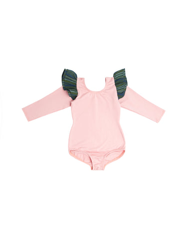 Pippy Pink Long Sleeve Bodysuit