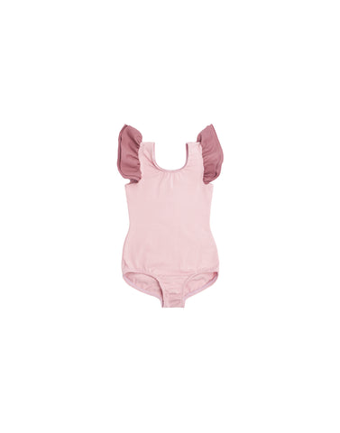 Canyon Coral Sleeveless Bodysuit