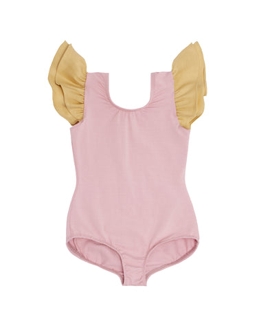 Primmy Pink Sleeveless Bodysuit