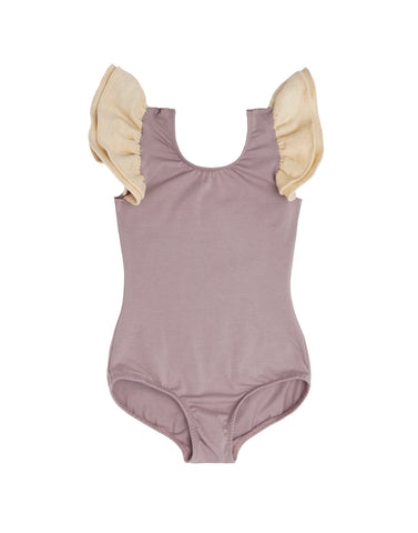 Meadow Mauve Sleeveless Bodysuit