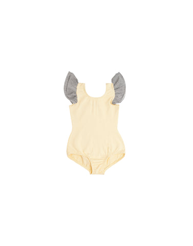 Tallulah Yellow Sleeveless Bodysuit