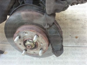 Honda Civic Brake Pad How To