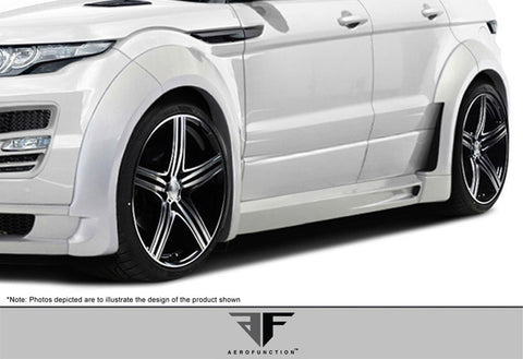 2012-2013 Land Rover Evoque  Aero Function FRP AF-1 Fenders