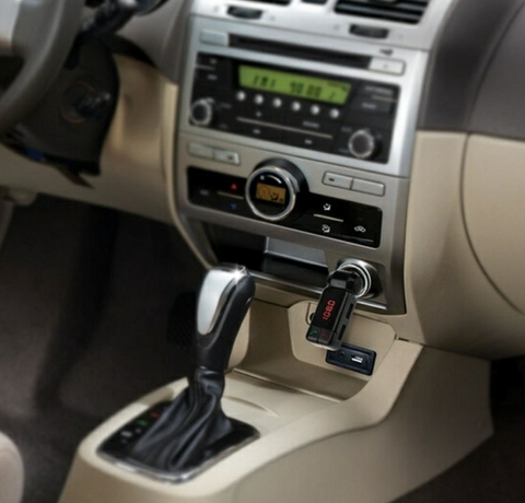Portable Bluetooth Car MP3 FM Transmitter