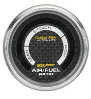 Autometer Carbon Fiber Electric Air Fuel Gauge